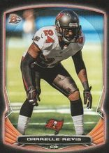 2014 Bowman Football Black Foil Vet #88 Darrelle Revis Tampa Bay Buccaneers