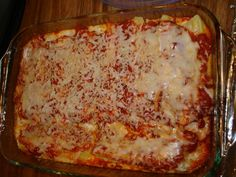 The Best Cheese Manicotti Recipe - Genius Kitchen Cheese Manicotti, Manicotti Recipe, Manicotti Pasta, Italian Dishes, Italian Recipes, Pasta Dishes, Food Dishes, Main Dishes, Great Recipes