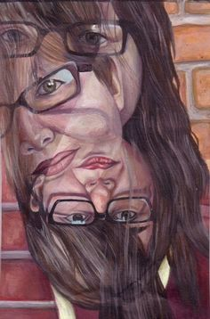 This picture shows repitition because of the face that keeps reappearing. Ap Studio Art, A Level Art, Identity Art, Ap Art, High Art, Art Graphique, Elements Of Art, Art Classroom, Life Drawing