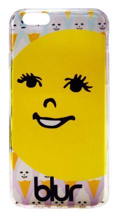 【Blur】ブラー「Mr. OK」iPhone6/6s クリアカバー