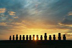 Moai Statues Easter Island