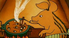 Hungarian Folk Tales: The Piglet And The Wolves Wolf Call, Film Studio, Folk Music, Scooby Doo, Storytelling, Art Decor, Animation, Entertaining, Make It Yourself