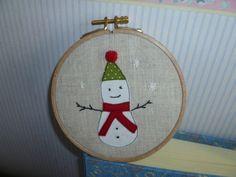 Patchwork - Casa Canberry - Bordado Circle - O Christmas Tree - Mantel de Navidad - bolsas Pretty - Taller Helen