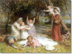 The Family Picnic-Frederick Morgan