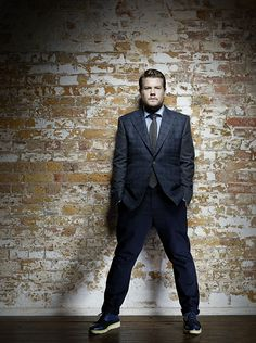 The Brit James Corden of The Late Late Show With James Corden on CBS. Love him & his show! Piercings, The Late Late Show, Look Man, Big Men Fashion, Style Fashion, Moda Emo, British Actors, Man Crush, Celebrity Crush