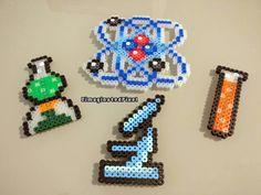 Science perler beads