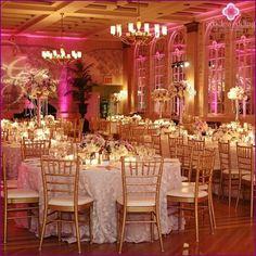 Bruiloft in goud kleur: glamour en luxe!
