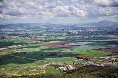 Valley of Armageddon, also called the Jezreel Valley.