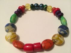 Bracelets rainbow #40