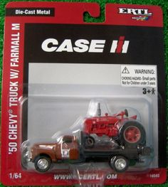 1/ 64th Chevy Truck with Farmall