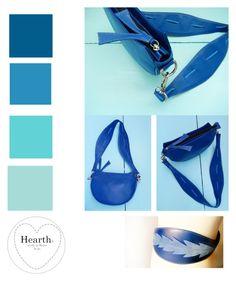 """The Hearth Leather goods"" by hearthfashion on Polyvore featuring moda, hearth, artisanalbelt, handmadeinrome, artisanalbag e handmadeinitaly"