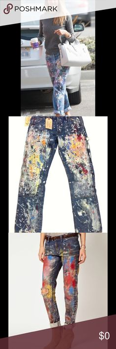 ISO Ralph Lauren Supply & Denim boyfriend jean Ralph Lauren Supply & Denim or Rialto Jean Project. boyfriend jean with distressed / distress paint splatter Denim & Supply Ralph Lauren Jeans Boyfriend