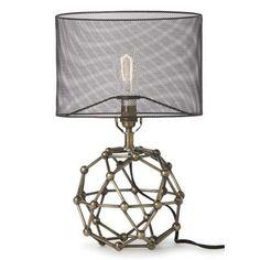 Office/Studio Decor For The Scientist.....Brass Molecule Lamp