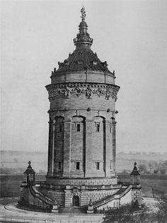 Wasserturm Mannheim 1889