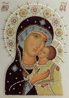 Mother of God Petrovskaya - Icons in Oklad