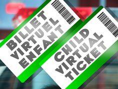Admission pour Enfant (Billet électronique) Water Bottle, Drinks, Ticket, Gifts, Birthday, Kid, Drinking, Beverages