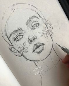 Brilliant sketches Swipe 1 2 or Artist HUMID PEACH Want to be featured? Use and Tag me! For immediate feature/promotion DM The post Brilliant sketches Swipe 1 2 or Artist HUM… appeared first on Woman Casual - Drawing Ideas Cool Art Drawings, Pencil Art Drawings, Art Drawings Sketches, Drawing Faces, Portrait Sketches, Pencil Portrait, How To Draw Sketches, Drawings Of Eyes, Hipster Drawings