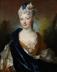 Nicolas de Largillière, Portrait of Jeanne de Robais?, c. 1714