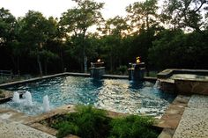 New Swimming Pool and Spa Combination Gallery - Trinity Outdoor Living