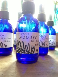 woodsy refresher spray for body room and linen by medicinegardens, #hudsonvalley #hvnyteam