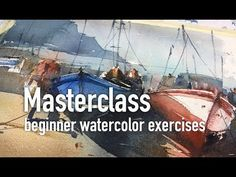 How to Draw and paint a Lighthouse Line and Wash Watercolor. Beginner lesson. Peter Sheeler - YouTube