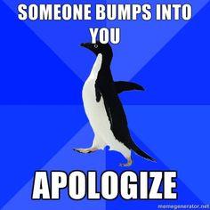 Oh, Socially Awkward Penguin.