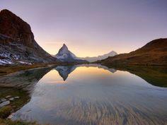 Lago Riffelsee con el Matterhorn