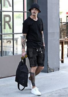 U-NECK VINTAGE POCKET T-SHIRTS #strunway I love all but the hat