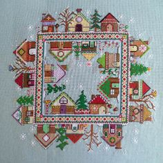 Gingerbread Village - Cross Stitch Pattern