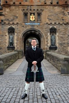 Bruce Campbell + a kilt. I'm not sure it gets any better than this.