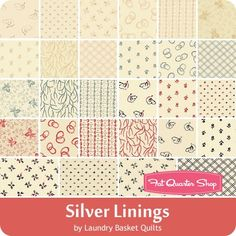 Silver Linings Charm Pack Laundry Basket Quilts for Moda Fabrics   Fat Quarter Shop