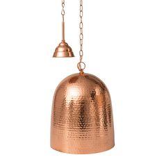 ceiling pendant beaten copper