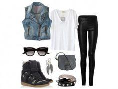 Outfit rockero, encuentra más looks para combinar chalecos aquí..http//