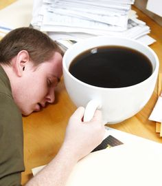 Jumbo Coffee Cup. Can't get the day going without a caffeine fix? Take your coffee to the extreme with this giant porcelain coffee mug, capable of holding a ridiculous 160 ounces of joe. Consult your physician before using.