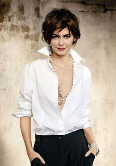 ♔ Audrey Tautou ~ French