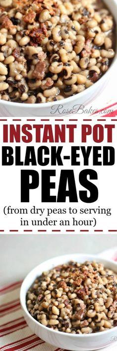 Instant Pot Black-Eyed Peas