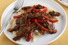 Cooking for two? Try our Barbecue Beef and Rice - it& a quick and easy recipe that serves two in less than 30 minutes. Cooking Trout, Cooking Tv, Cooking For Two, Lunch Recipes Indian, Quick Lunch Recipes, Quick Easy Meals, Asian Recipes, Sausage Recipes, Beef Recipes