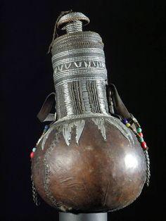 Borana milk container, Ethiopia