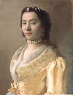 Jean-Etienne Liotard (Swiss-French artist, 1702-1789) Madame Jeanne-Marie Liotard (1726-1789) 1752