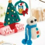Quick-Knit Christmas Decorations for Snowman, Owl & Christmas Tree Owl Christmas Tree, Knitted Christmas Decorations, Christmas Makes, Christmas Countdown, Simple Christmas, Christmas Crafts, Christmas Ornaments, Christmas Ideas, Homemade Christmas