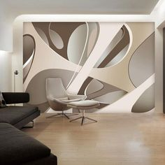 Великая стена 3D зал трехмерное пространство из большой фрески, Согласно квадратного DIY пользовательские фрески