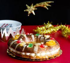 Roscón de Reyes relleno de nata 4