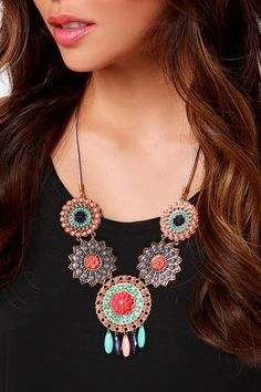 Pretty Beaded Necklace