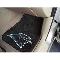 Carolina Panthers NFL Car Floor Mats (2 Front)