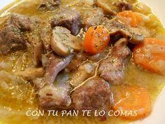 Ideas que mejoran tu vida Mexican Food Recipes, Ethnic Recipes, Spanish Food, Omelette, Flan, Pot Roast, Tasty, Beef, Cooking