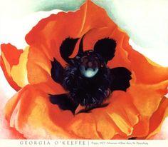 Georgia O'Keeffe, Poppy 1927