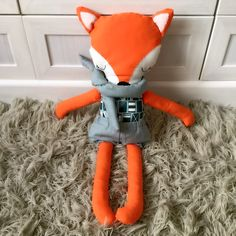 DIY fox doll
