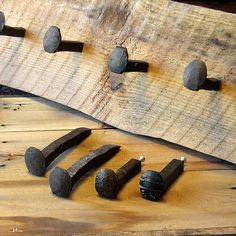Railroad Spike Hook With Screw - Rustic Hook - Hook Supplies