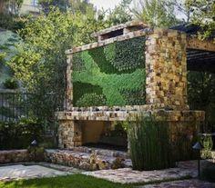 Pozsgás függőleges kert | Kövirózsa Dekor