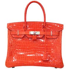 Hermes handbag is the most sought-after designer handbags; its reputation was earned as the most well-being in the world. Actually To own a Hermes bag is a luxury and elegance.Hermes birkin Handbags are the dream of stylish ladies but I think only the rich and famous can afford to carry one on their arm.